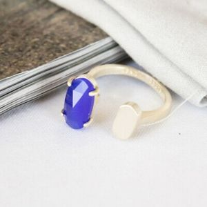 Nwot Kendra Scott ring Colbolt Blue